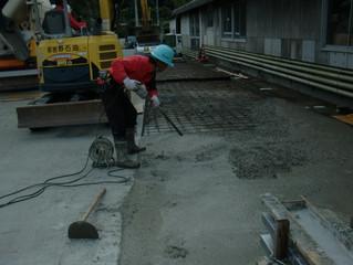 【山鹿市】コンクリート工事をさせて頂きました。