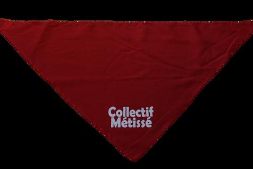 Bandana rouge CollectifMétissé