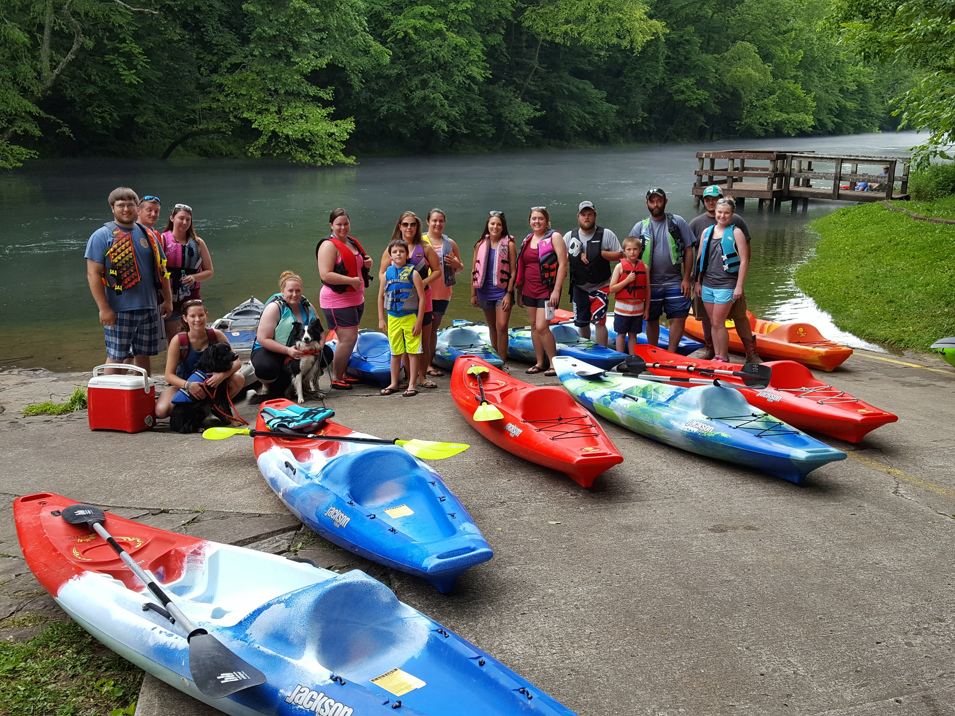 Kayak Rentals on the Obey River & Dale Hollow Lake