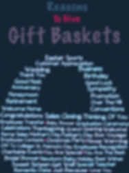 reasons to give gift baskets