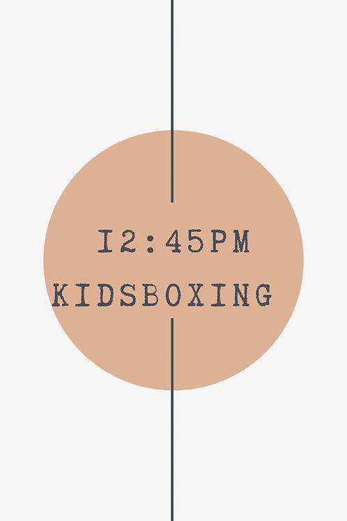 12:45 PM Kidsboxing Class