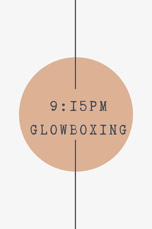 9:15 PM Glow Boxing Class