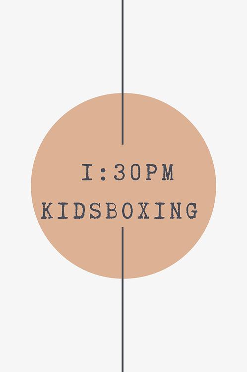 1:30 PM Kidsboxing Class