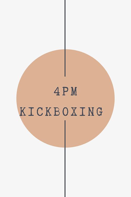 4 PM Kickboxing Class