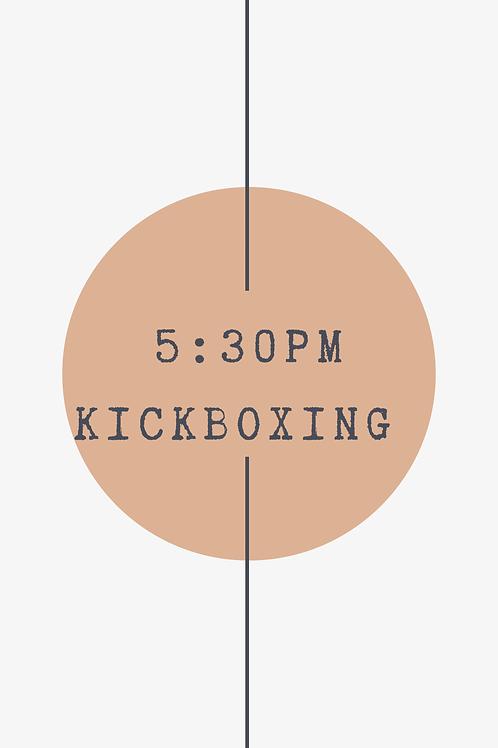 5:30 PM Kickboxing Class