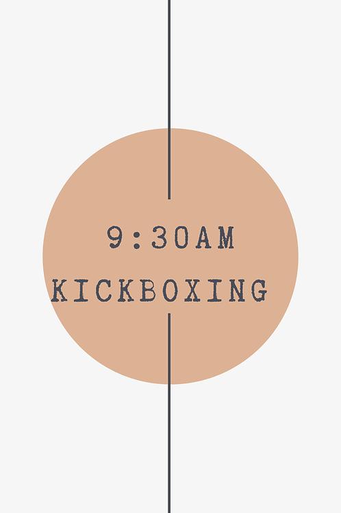 9:30 AM Kickboxing Class