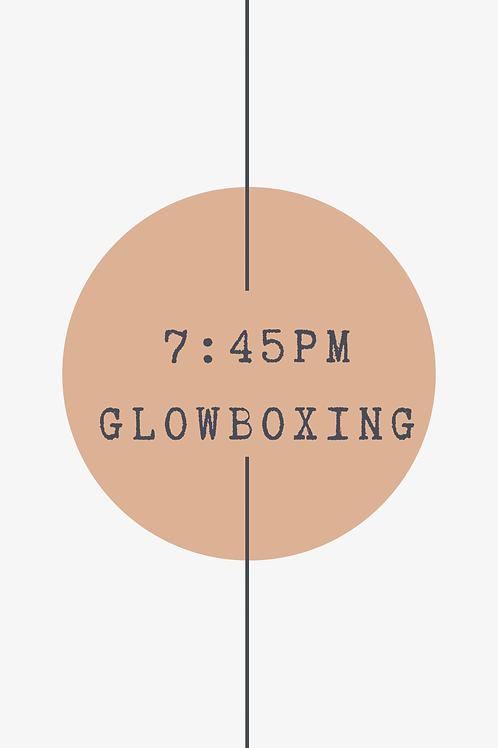 7:45 PM Glow Boxing Class