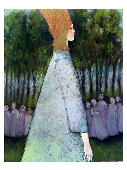 "The Procession""  Beautiful limited edition giclée 8x10"""