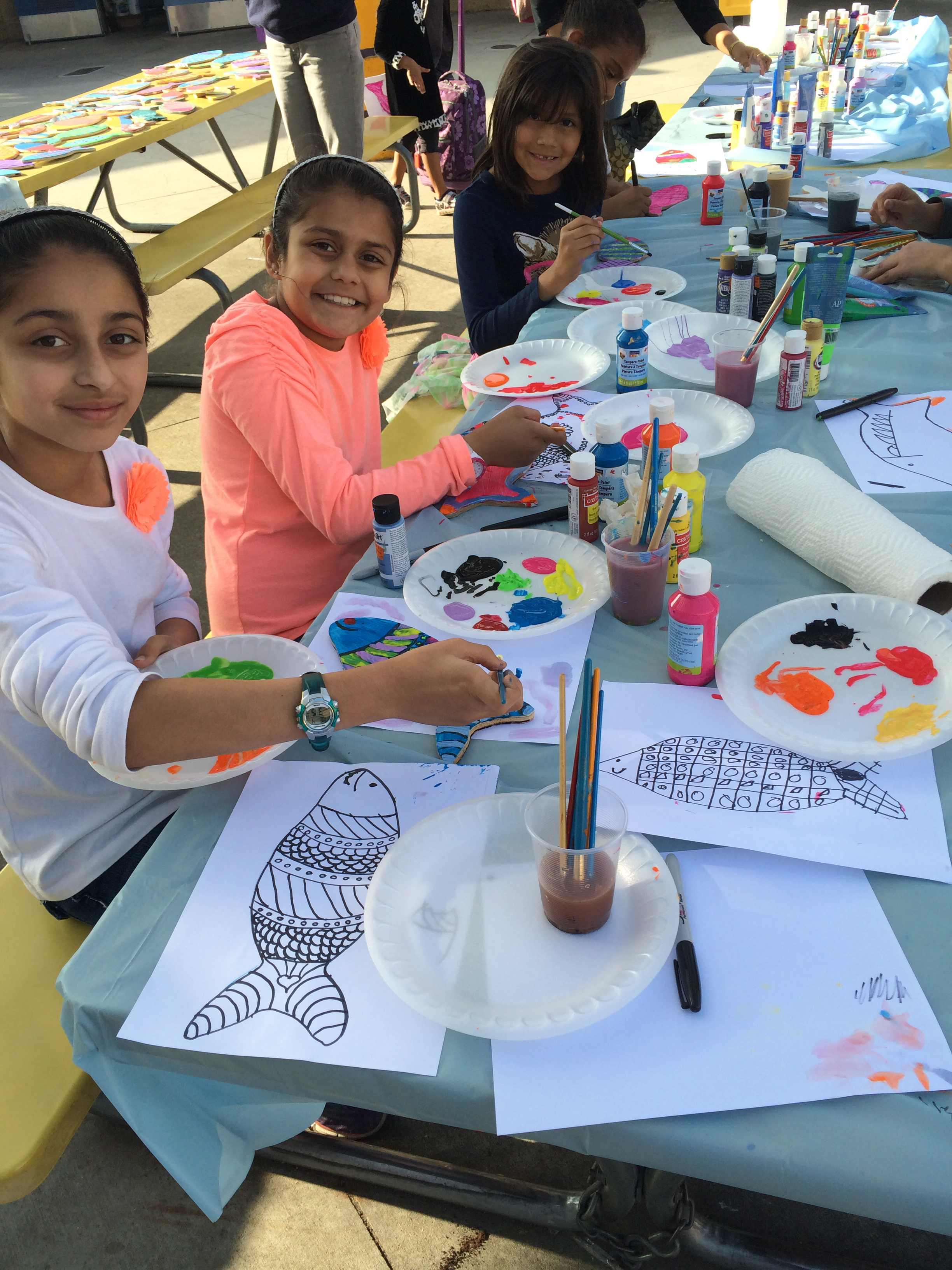 Free after school art classes