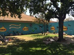 Leal Elementary art installation
