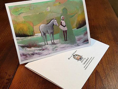 """""""Winter's Dream"""" 5x7 Card"""