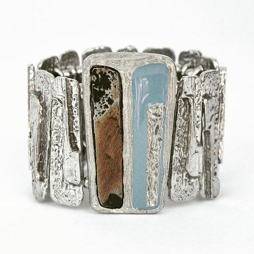 Bracelet Bleu Acier