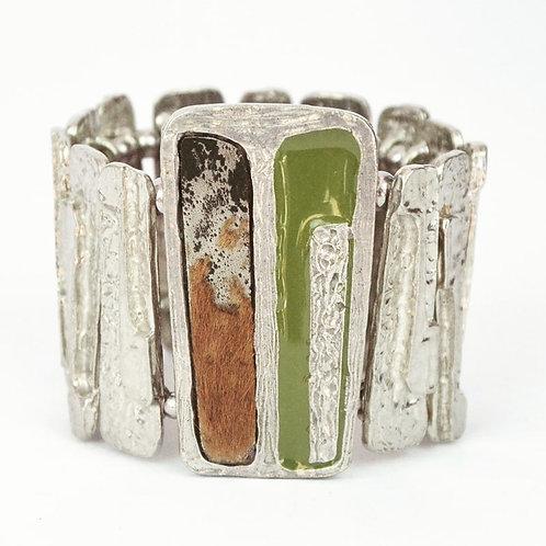 Bracelet Vert d'olive