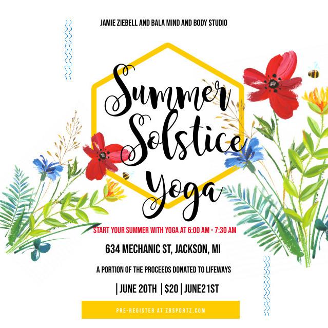 Summer Solstice Yoga with Jamie