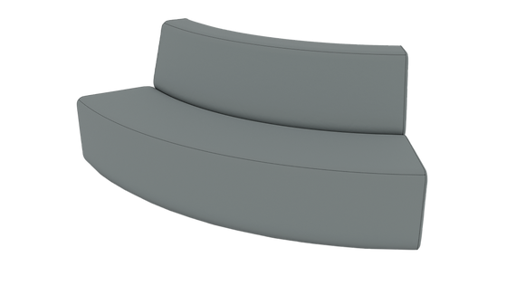 XL Curved Sofa - Out
