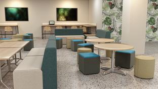 Cafeteria Lounge RENDERS @ Misty Diller
