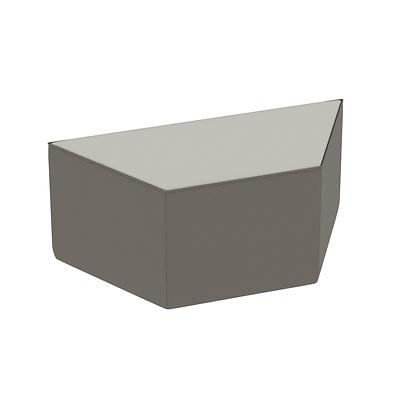 Trapezoid Bench