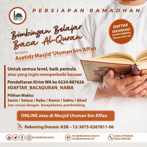 Bimbingan Belajar Baca Al-Qur'an