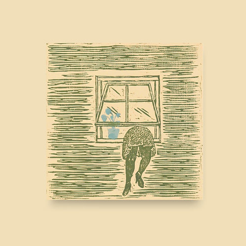 Blomster i vinduet