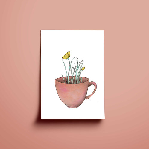 Blomsterkopp
