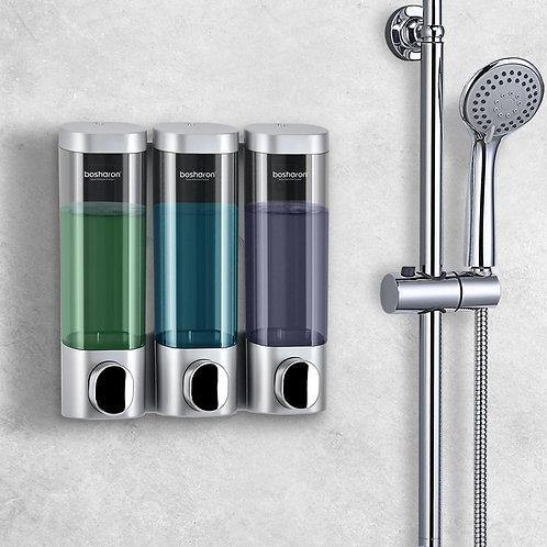 Wall Mounted Soap / Shampoo Dispenser 300ml Home Hotel Bathroom Accessories