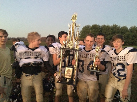 Crusaders Middle School Team Wins Championship