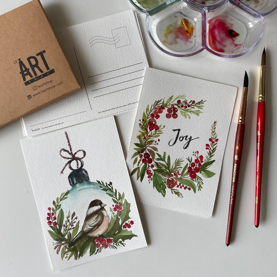 A Magical Christmas with Watercolour