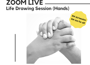 MTMT Studios : Live Drawing Sessions (May to June 2020)