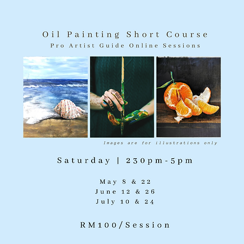 Oil Painting & Acrylic with Artist Guide