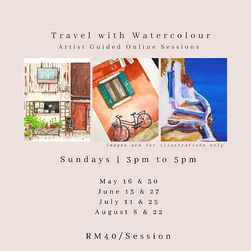 Watercolour Course with Artist Guide