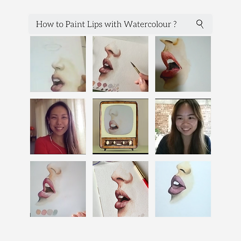 Watercolour Course for Beginners with Cassielelolea
