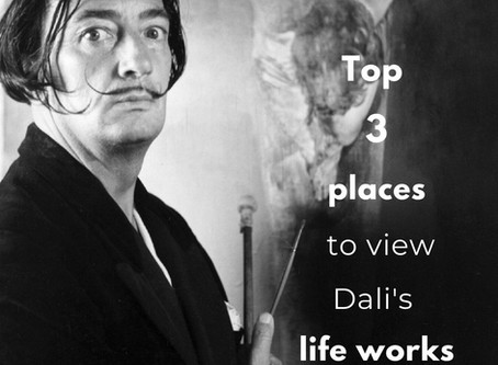 Top 3 places to view Salvador Dali