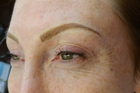 Permanent Eyebrows for Redheads