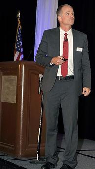 Photo of Jeff Utsch presenting