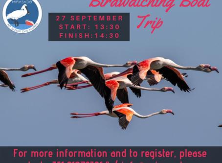 Birdwatching Boat Trip- 27 September 2019