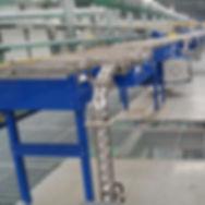 aluminum can manufacturing, aluminum can conveyor, can conveying, can line, aluminum can making