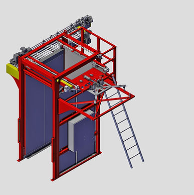 Automate the process of moving aluminum containers from pallet to into the canning system.