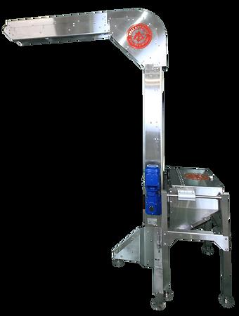 Bottle Filler Crown Elevator, canning system, Magnetic Crown Elevator, Codi Crown Elevator, canning system