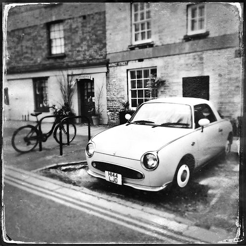 Figaro and Bicycle, Woodstock, Oxfordshire 27th May 2019