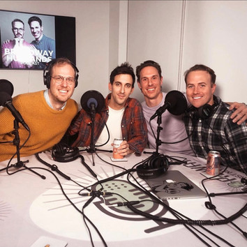 Recording with Broadway Husbands