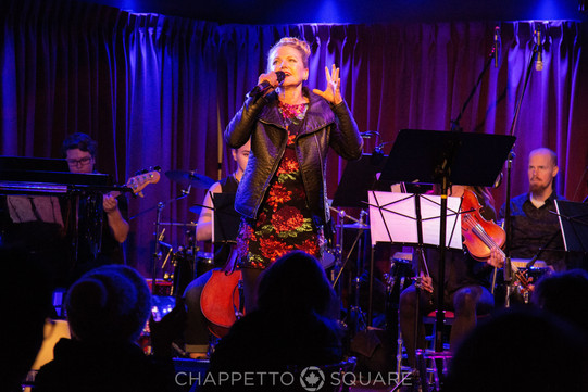 Alison Fraser at An Evening With... Peggy Lee