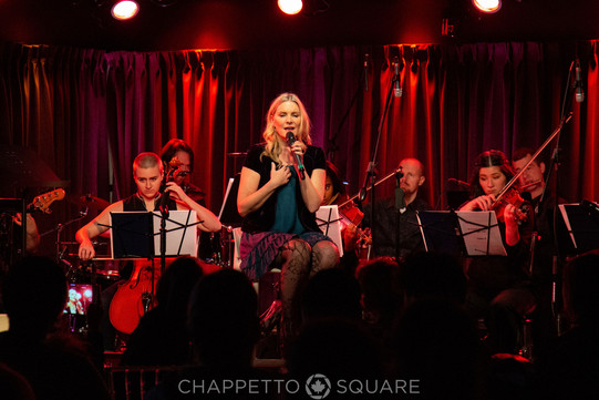 Jess Hendy at An Evening With... Peggy Lee