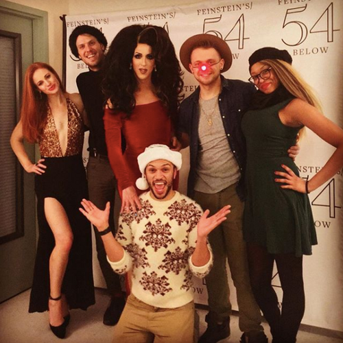 We Wish You a Very Marti Christmas at 54 Below