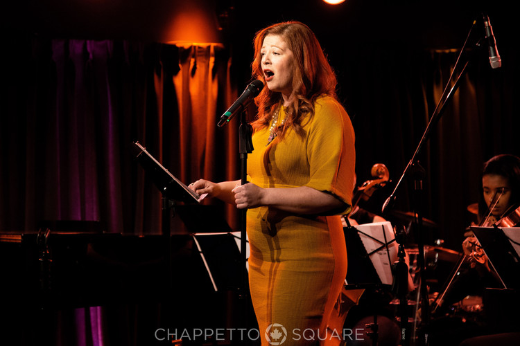 Christine de Frece at An Evening With... Peggy Lee