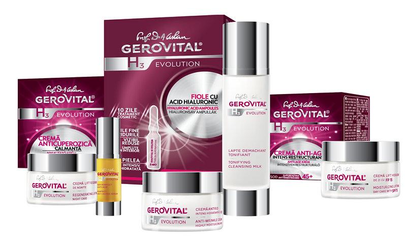 Gerovital H3 Evolution Romade Cosmetics