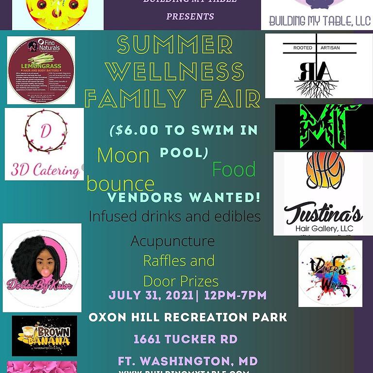 Summer Wellness Family Fair