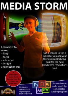 Media Storm Magazine Cover