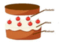 cake-with-red-cherries-on-top-illustrati