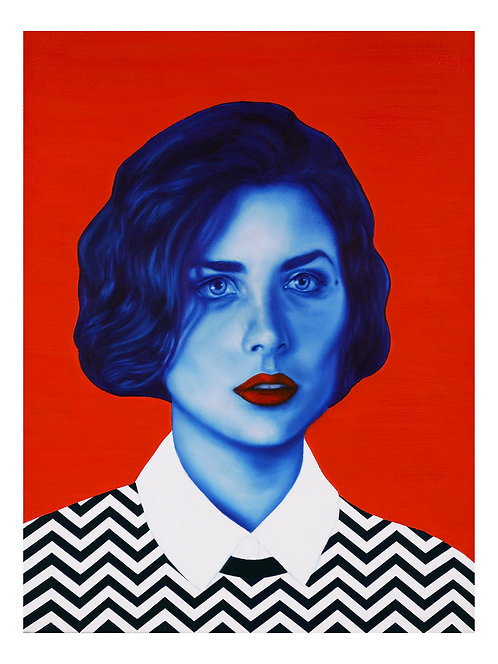 Audrey Horne Twin Peaks Open Edition Signed Print