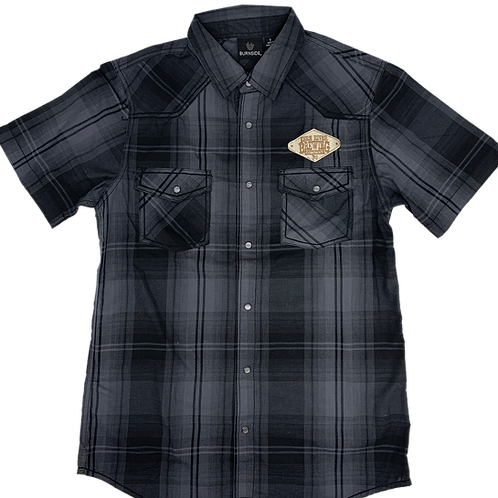 Western Button-up Tee